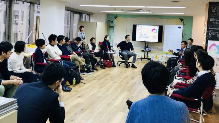 渋谷つなげる30人〜ビジネスモデルセッション